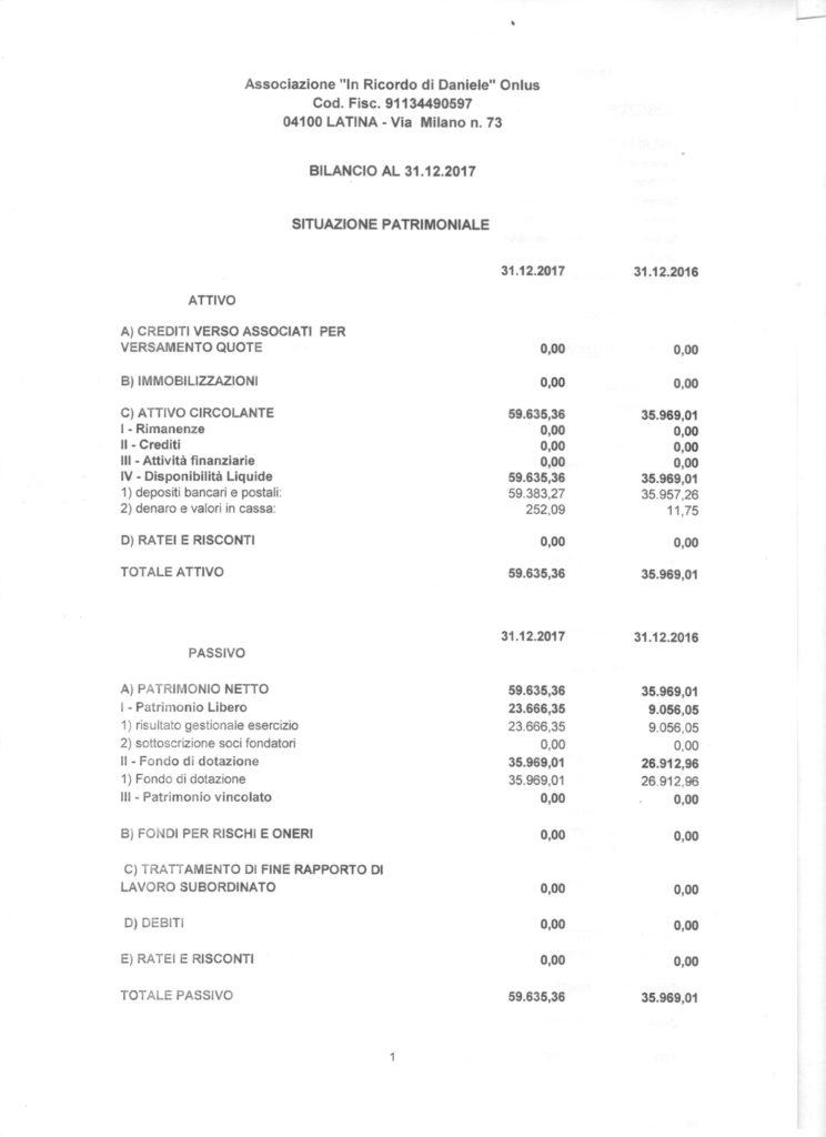 bilancio 2017 pag1