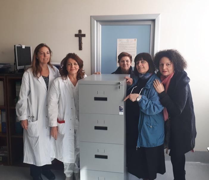 Dott.ssa Lichtner, Capo sala Agnese, M. Pia, Mamma di Daniele, Roberta