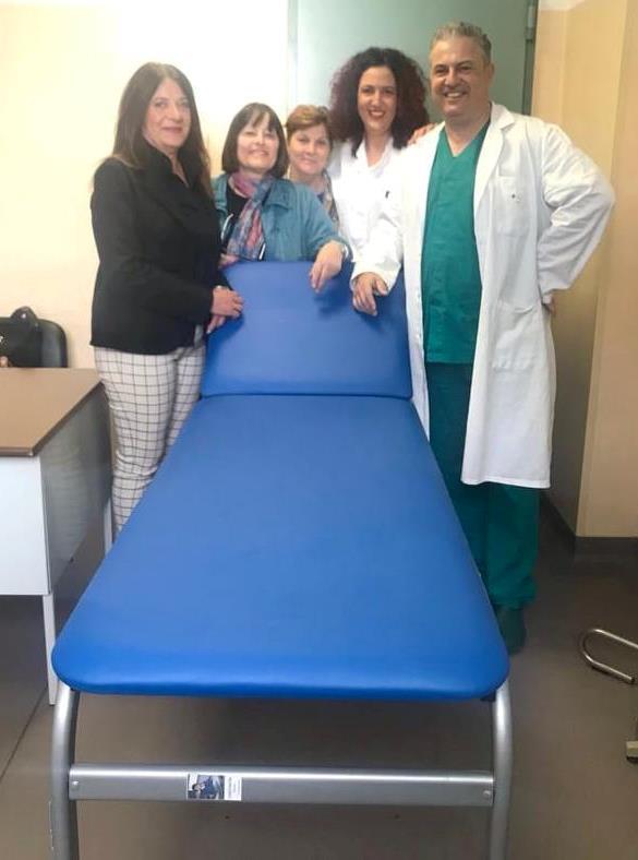 Lettino visite Chirurgia