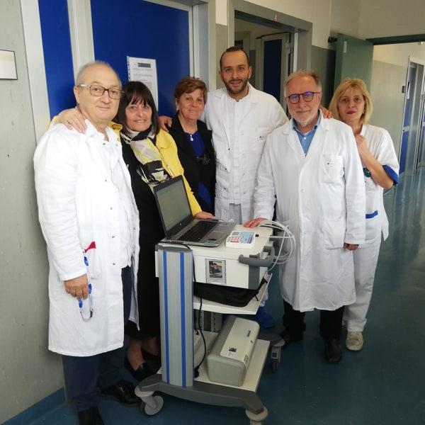 Giovanni Venditti (caposala), Mamma di Daniele, Maria Pia, Dott. Nicolucci (Primario Neurologia)