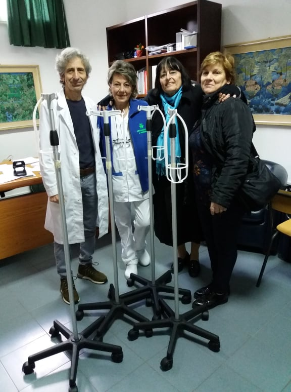 MEDICINA NUCLEARE. Primario Bagni, Anita Moroni, Maria Pia Valeri, Mamma Daniele