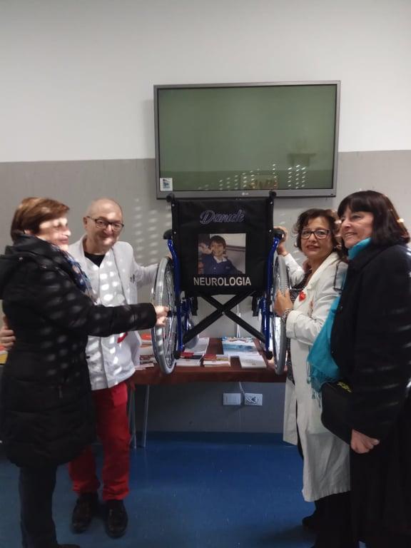 NEUROLOGIA. Maria Pia Valeri, Giovanni Venditti, Franca Corrado, Mamma di Daniele